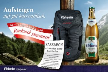 Edelweiss Rucksack Promotion